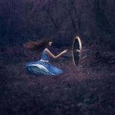 Alice in Wonderland Mirror Reflection Field