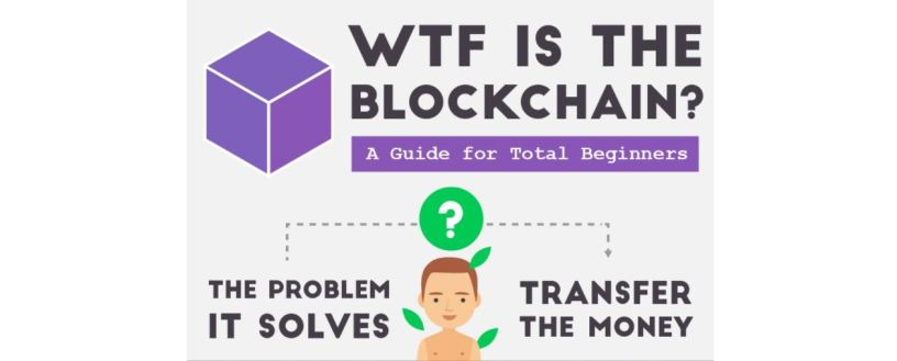 Beginners Guide To The Blockchain Infographic How Explain Bitcoin Your Family And Friends
