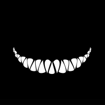 ! Cheshire Cat Logo Grin