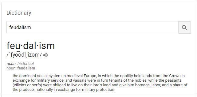 Feudalism Defined