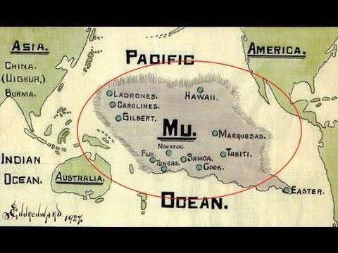 Mu Map Lemuria