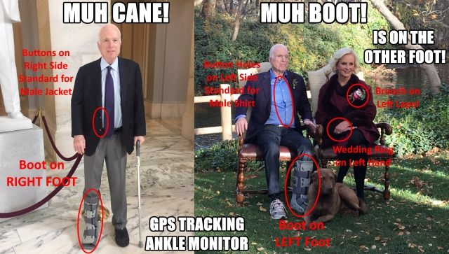 ! Muh Cane Muh Boot Is on the Other Foot No Eagle