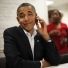 ! Obama Shrugs on Cell Phone Cropped