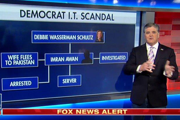 Sean Hannity Diagrams Clinton-Obama-DNC Scandal (4)