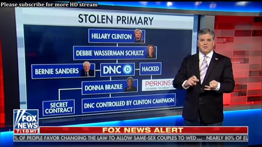 Sean Hannity Diagrams Clinton-Obama-DNC Scandal (5)