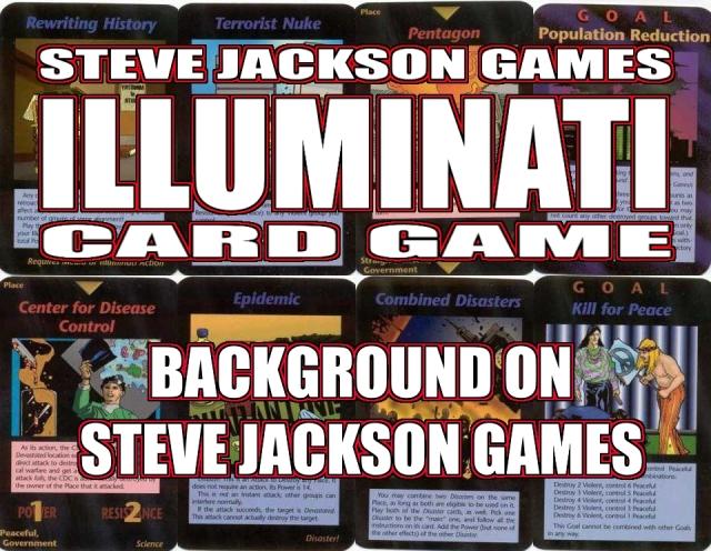 Steve Jackson's Illuminati Card Game Banner Background