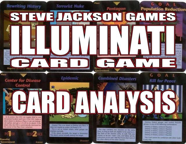 Steve Jackson's Illuminati Card Game Banner Card Analysis