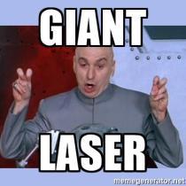 2 Giant Laser