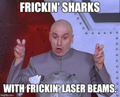 4 Frickin Sharks