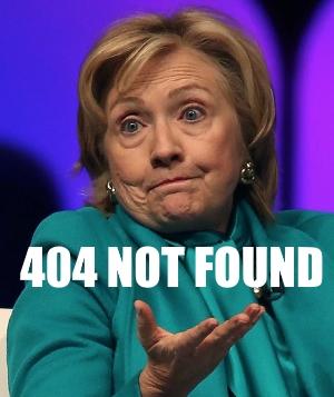 404 NOT FOUND Hillary