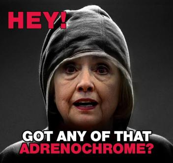 Adrenochrome Hillary as Chappelle Y'all got an more of that.jpg
