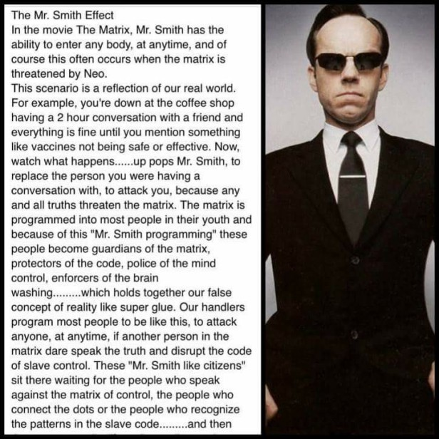 Agent Smith Effect