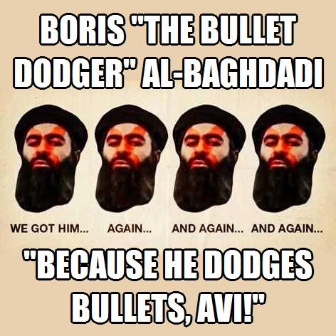 al-Baghdadi Bullet Dodger