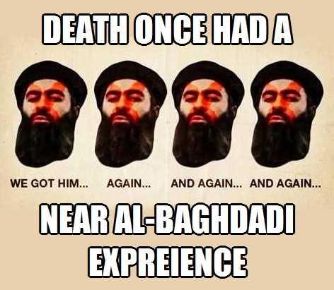 al-Baghdadi Death Near Experience
