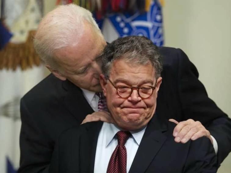 ! Al Franken and Joe Biden Creepy