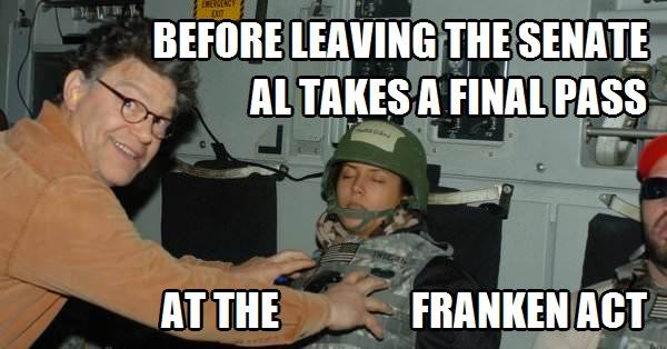 Al Takes a Final Pass at the Franken Act