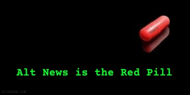 Alt News is the Red Pill BANNER The Matrix