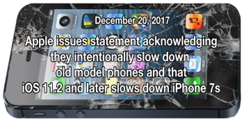 Apple Admits it Slows Down Old Phones BANNER