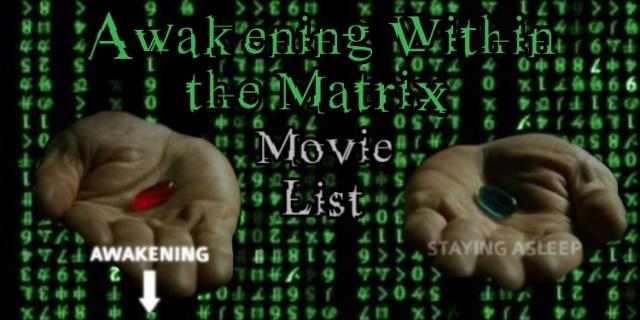 Awakening Within the Matrix Movie List Banner HANDS 2