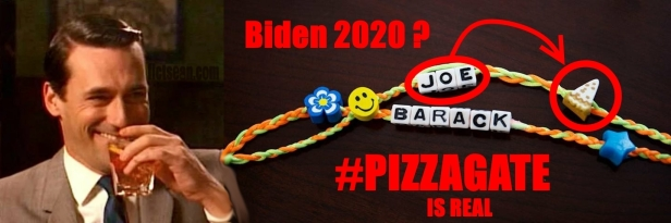 . Barack Joe Friendship Bracelets #PIZZAGATE Biden 2020 Drink Like Draper