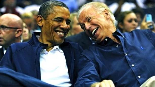 Biden Obama - Ball Game Laugh 2