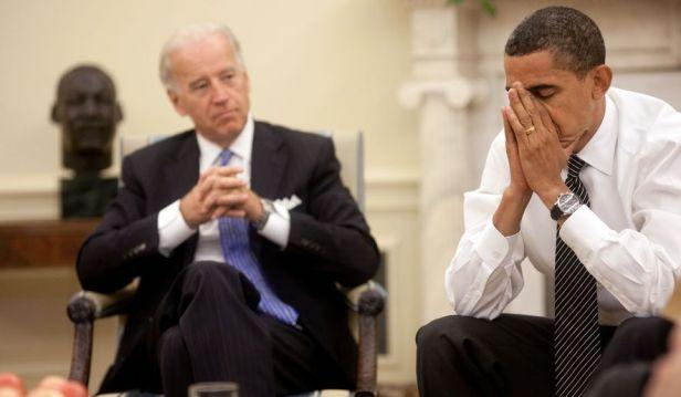 Biden Obama - Disgust