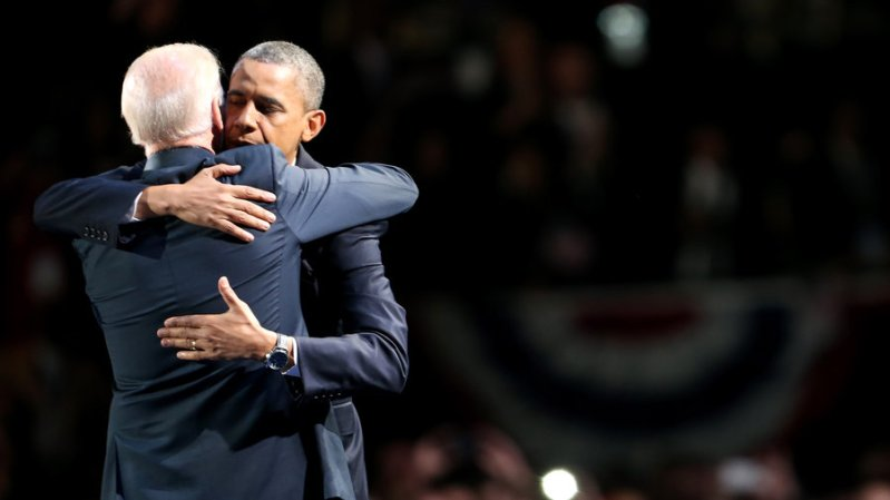 Biden Obama - Hug 1