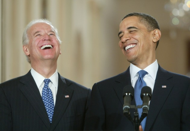 Biden Obama - Laugh 1