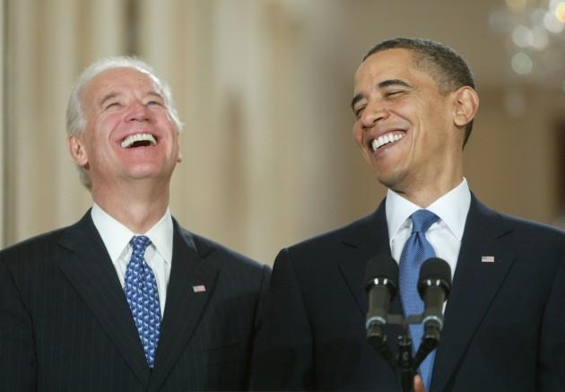 Biden Obama - Laugh 1