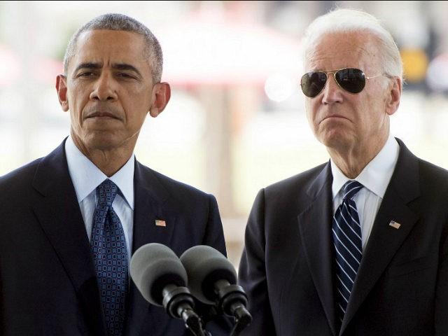 Biden Obama - Secret Service Shades