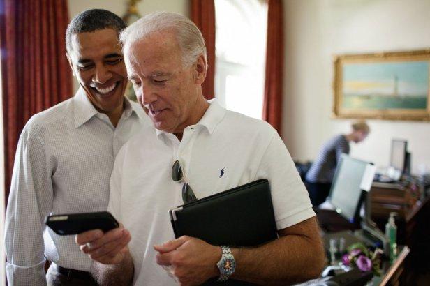 Biden Obama - Smart Phone Blank