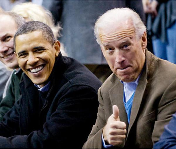 Biden Obama - Thumbs Up