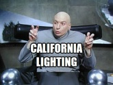 ! California Lighting Dr Evil Austin Powers