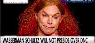 Carrot Top Wasserman-Shultz