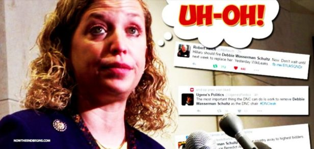 debbie-wasserman-schultz-steps-down-disgrace-amid-dnc-email-scandal-crooked-hillary-kaine-unable-933x445