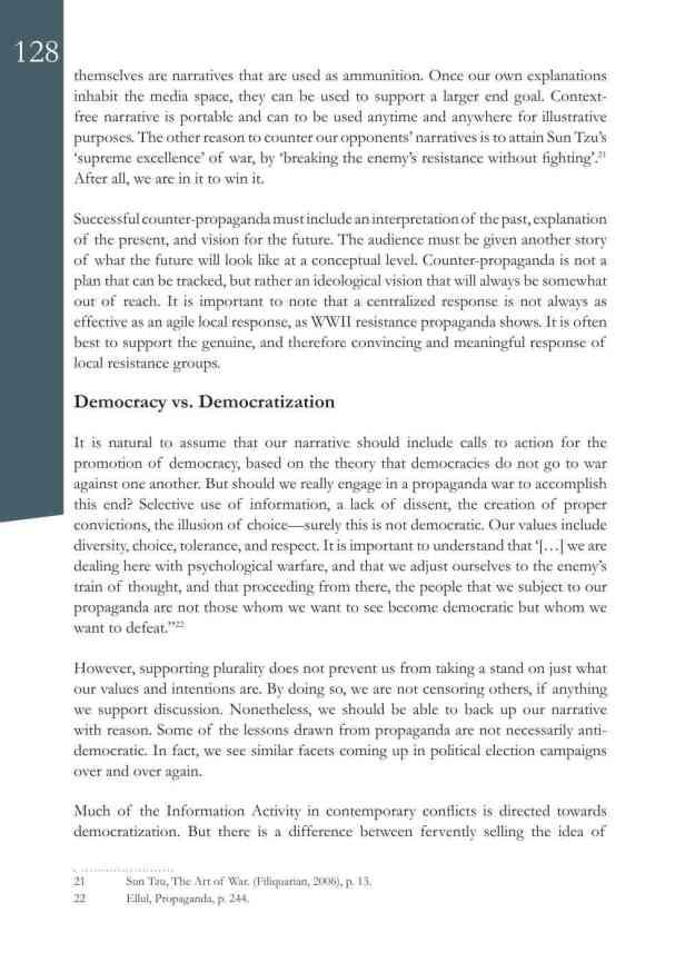 Defence Strategic Communications V1 #1 Narrative and Social Media10
