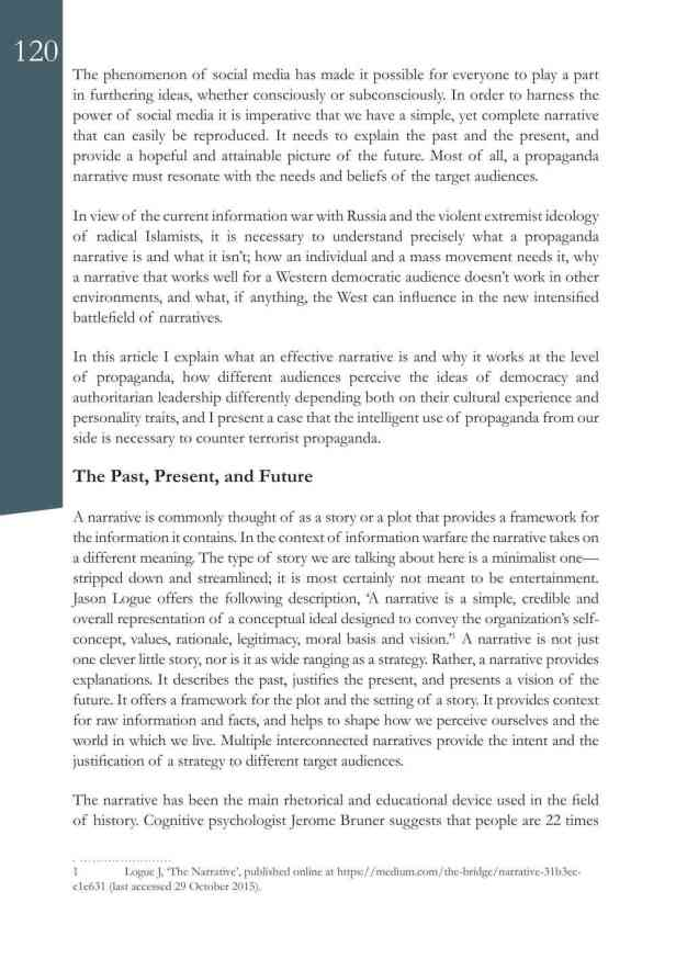 Defence Strategic Communications V1 #1 Narrative and Social Media2