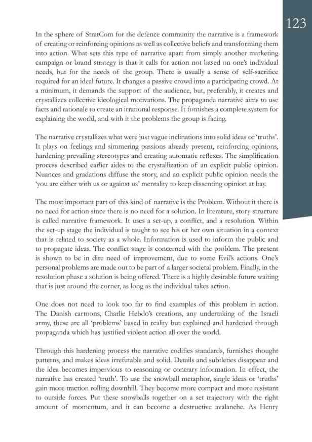 Defence Strategic Communications V1 #1 Narrative and Social Media5