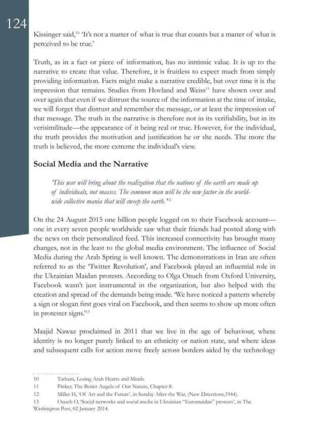 Defence Strategic Communications V1 #1 Narrative and Social Media6