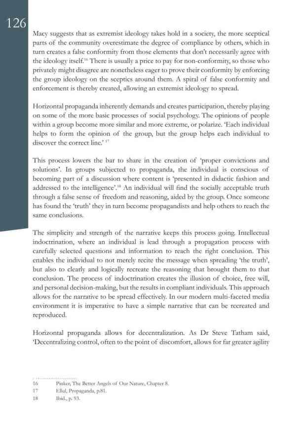 Defence Strategic Communications V1 #1 Narrative and Social Media8