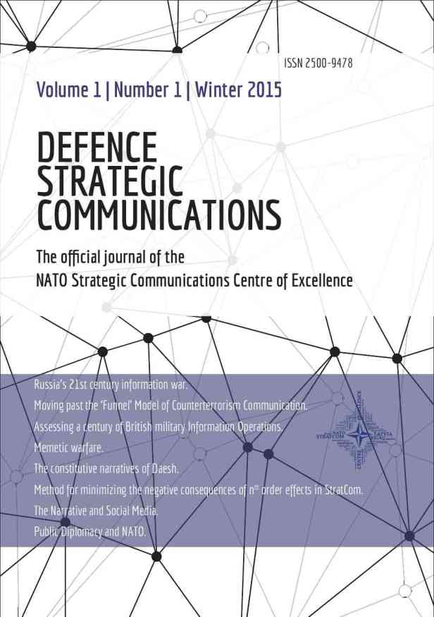 Defence Strategic Communications V1 #1