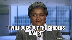 Donna Brazile I will cuss out the sanders camp