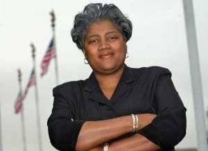 Donna Brazile Says Blank