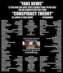 ! Fake News Conspiracy Theory Movie List 3