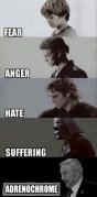 Fear Anger Hate Suffering Adrenochrome