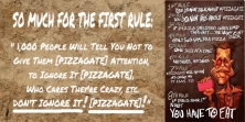 ! Fight Club - The Rules of #PIZZAGATE BANNER2