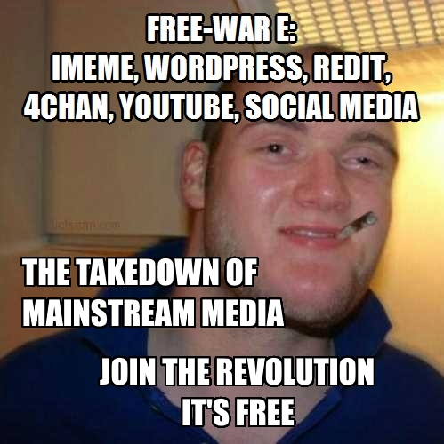 Free-War E The Takedown of Mainstream Media ITS FREE old