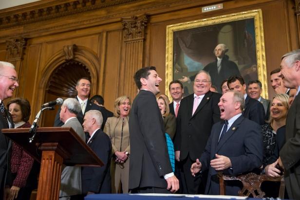 Paul Ryan, Steve Scalise, Billy Long