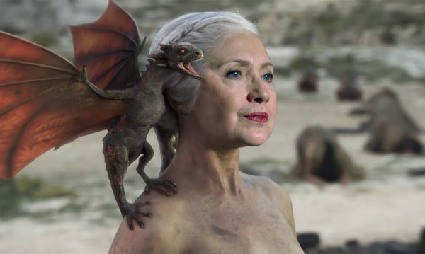 Hillary Clinton Mother of Dragons'