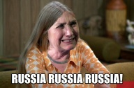 ! Hillary Crying as Jan Brady - Russia